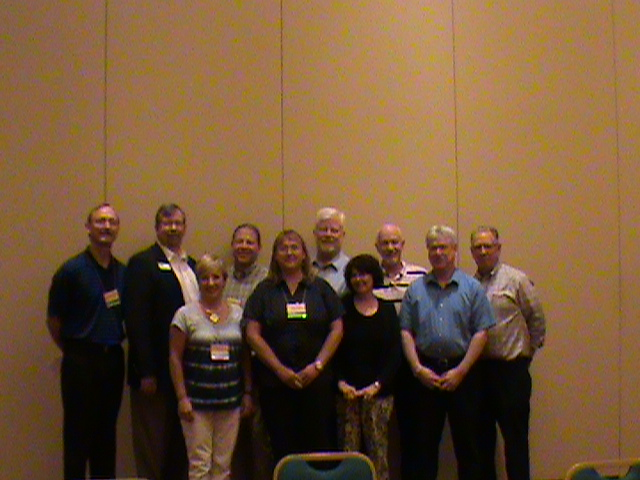 2011 Past Presidents in attendance